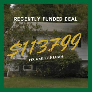 fix and flip $113,799